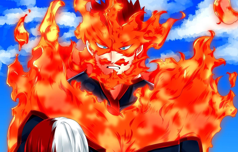 Photo wallpaper anime, hero, manga, yuusha, seifuku, super hero, japonese, Boku no Hero Academy, My Hero Academia