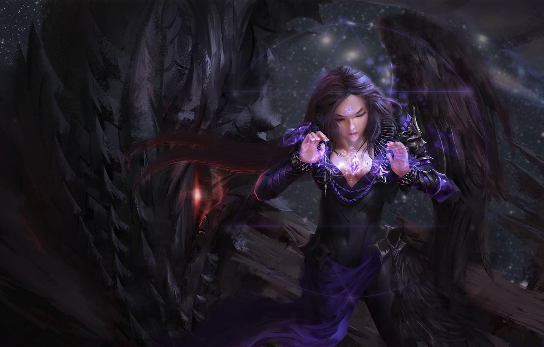 Dark Magic Fantasy Art