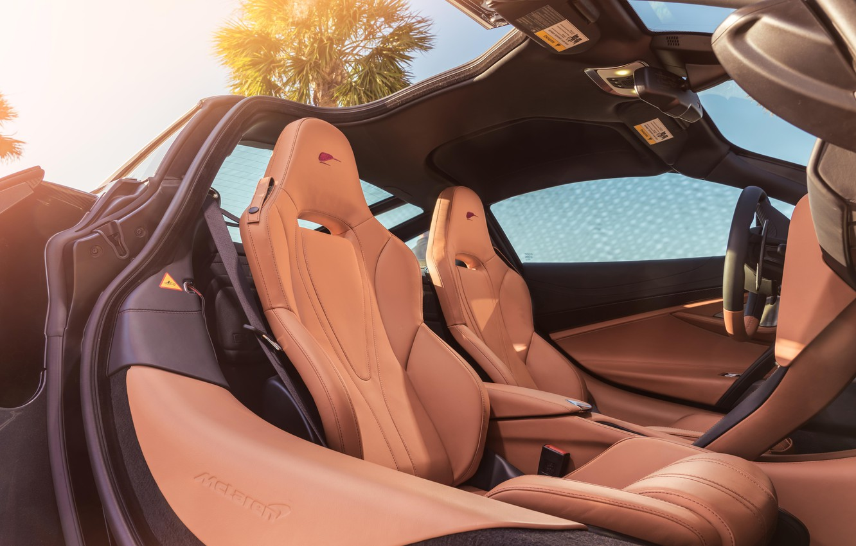 Photo wallpaper McLaren, supercar, salon, 2018, MSO, 720S