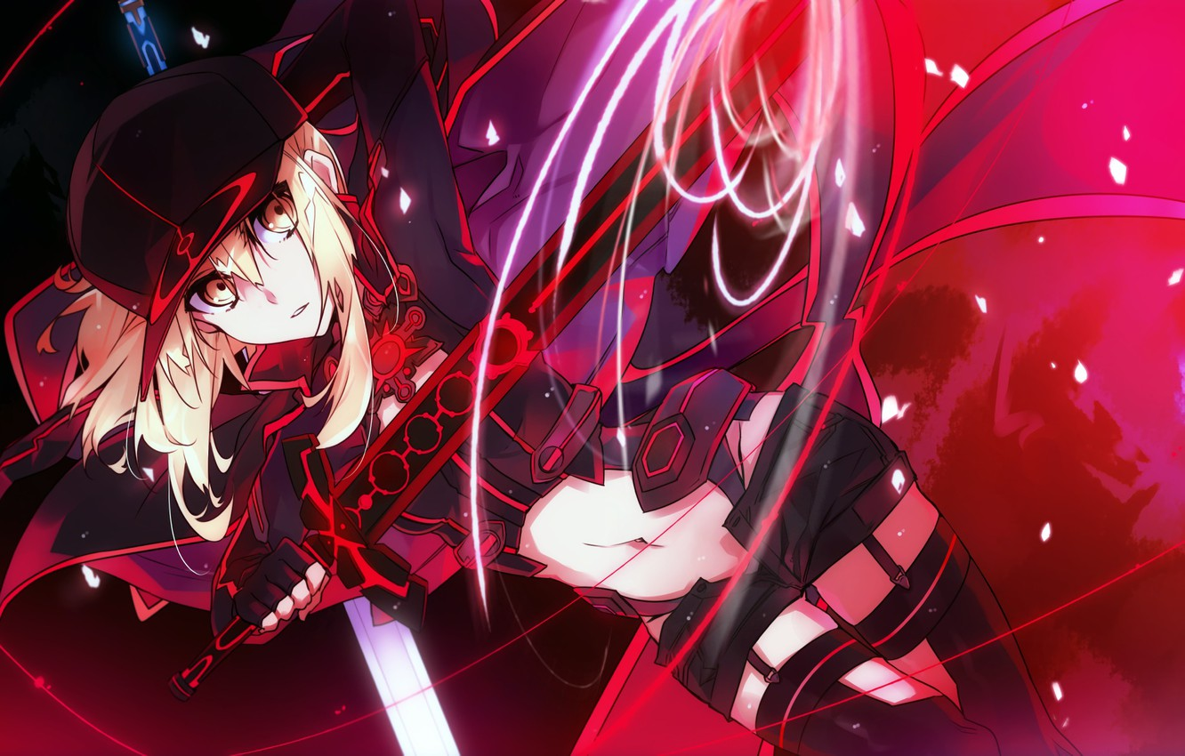 Photo wallpaper anime, art, Fate Stay Night, the saber, Fate stay night