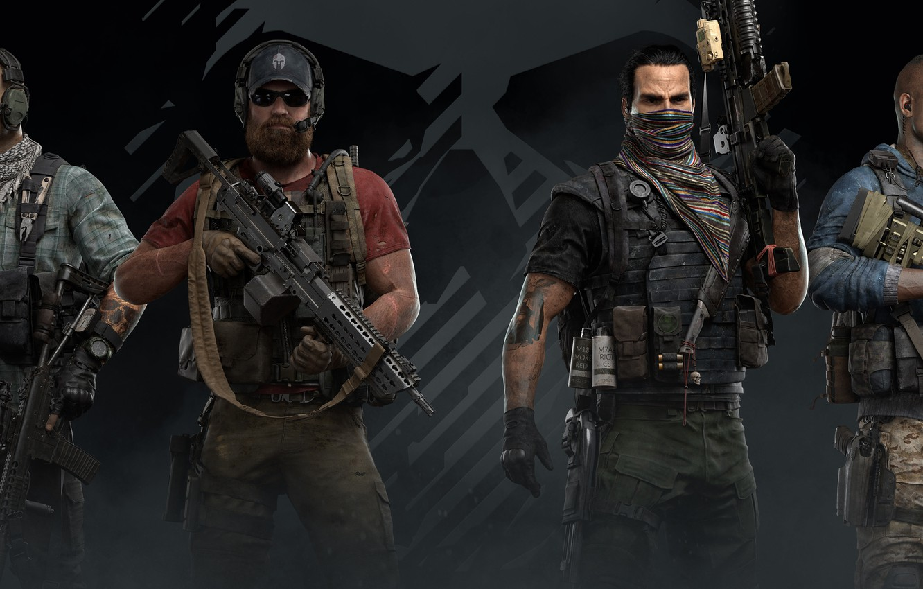 Photo wallpaper guns, ghost recon, army, video game, special forces, ghost recon wildlands, tom clancy's ghost recon …