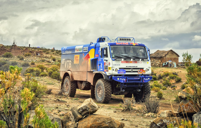 Photo wallpaper Sand, Nature, Sport, Speed, Truck, Race, Master, Russia, Beast, 500, Kamaz, Rally, Dakar, Dakar, Rally, …