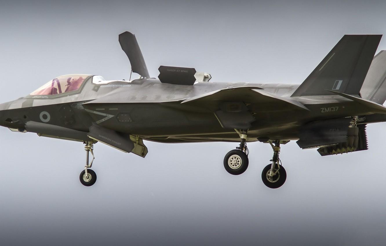 Photo wallpaper weapons, army, F-35B Lightning