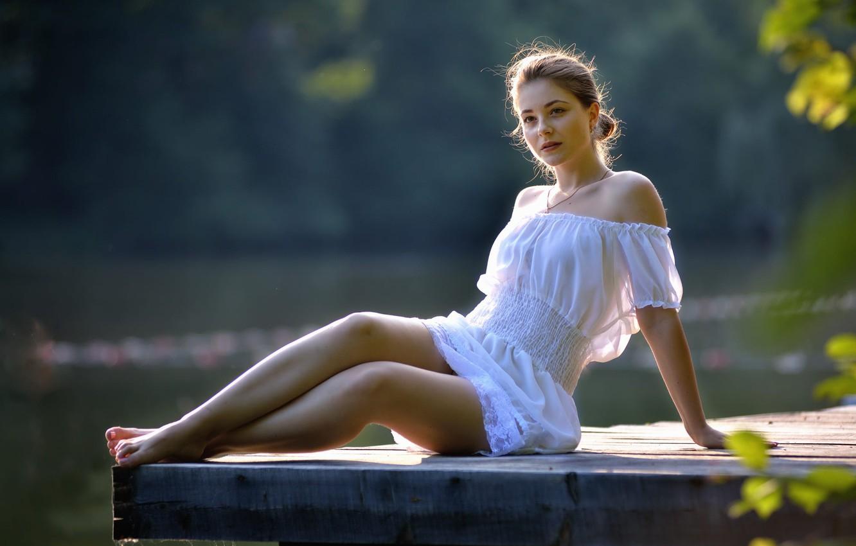 Photo wallpaper girl, legs, Ukraine, Dana, Dana, Ivan Borys