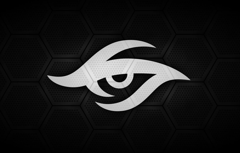 Photo wallpaper Logo, Team, Dota 2, Secret, Pro