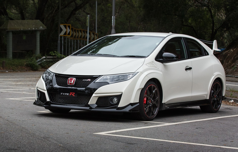 Photo wallpaper Honda, Civic, Type-R, Hatch