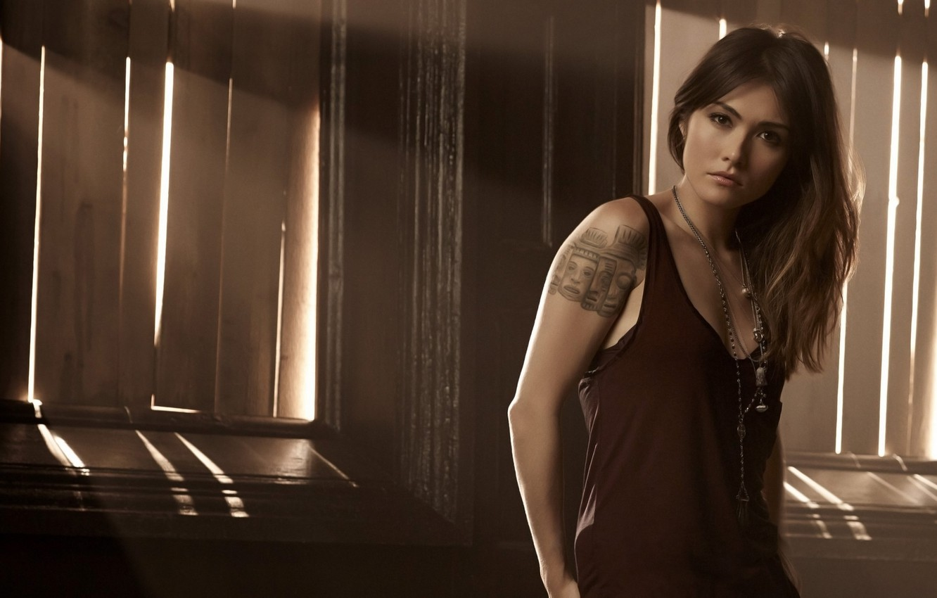 Wallpaper Girl Tatoo Pose Witch The Originals Tv Series