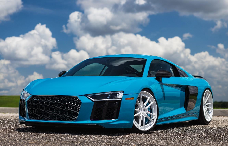 Photo wallpaper Audi, Wheels, ANRKY
