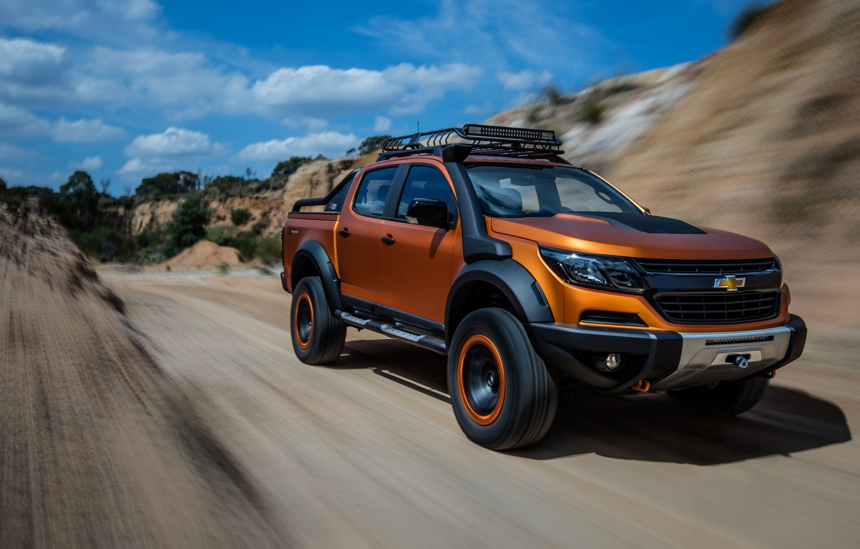 Photo wallpaper Concept, Chevrolet, Colorado, 2016, ZR2, Xtreme, Pickup trucks