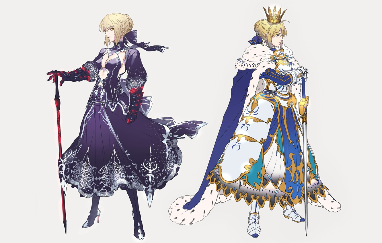 Photo wallpaper Girls, Armor, Art, The saber, Fate / Grand Order, The destiny of a great campaign