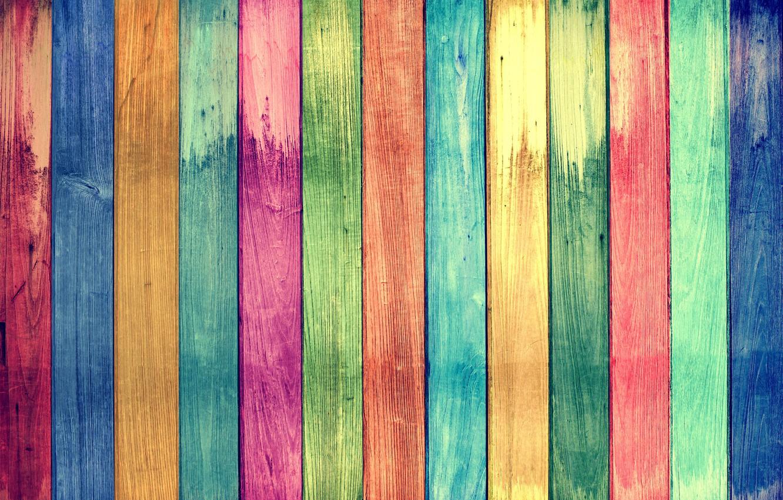 Photo wallpaper background, Board, rainbow, texture