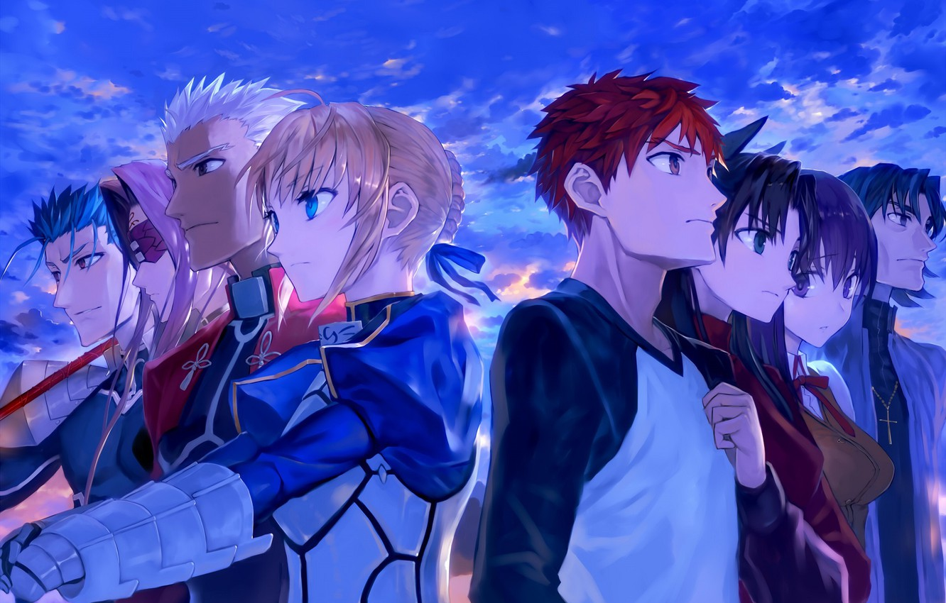 Wallpaper The Evening Characters Fate Stay Night Fate Stay