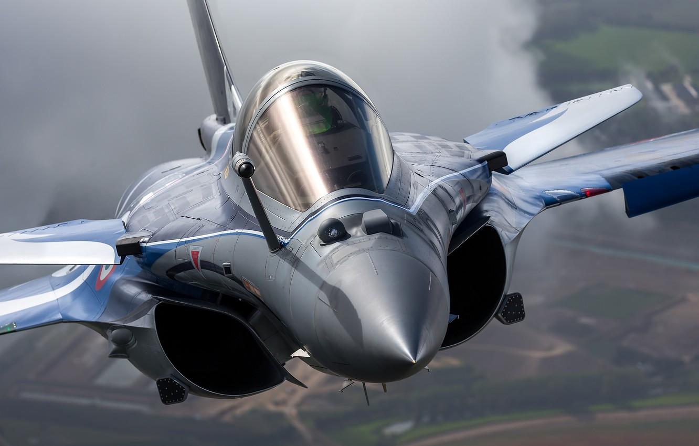 Wallpaper cabin, multi-role fighter, French, Dassault Rafale