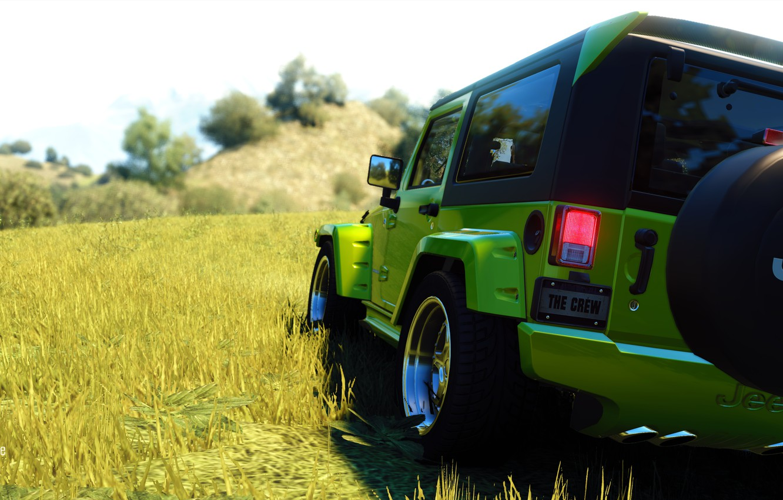 Photo wallpaper Racing, Ubisoft, Jeep, The Crew, Haid One