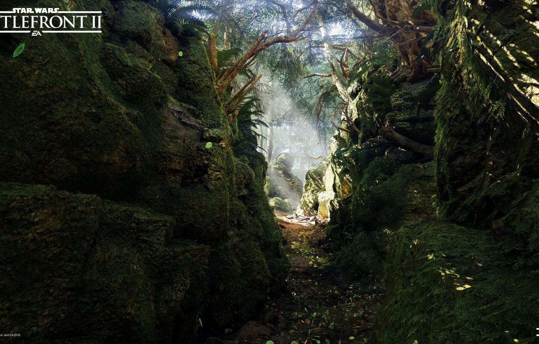 star wars battlefront 2 mazs castle forest ushchele priroda