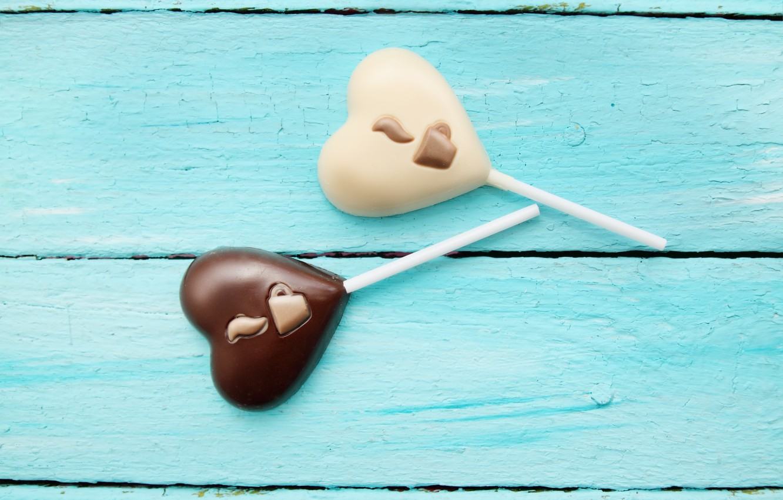 Photo wallpaper heart, candy, dessert, heart, chocolate, candy, chocolate