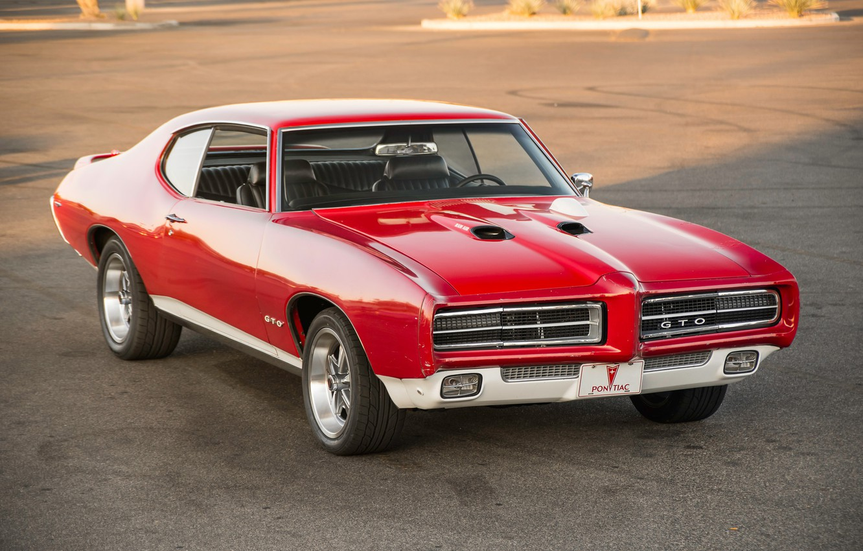 Photo wallpaper style, classic, Pontiac, GTO