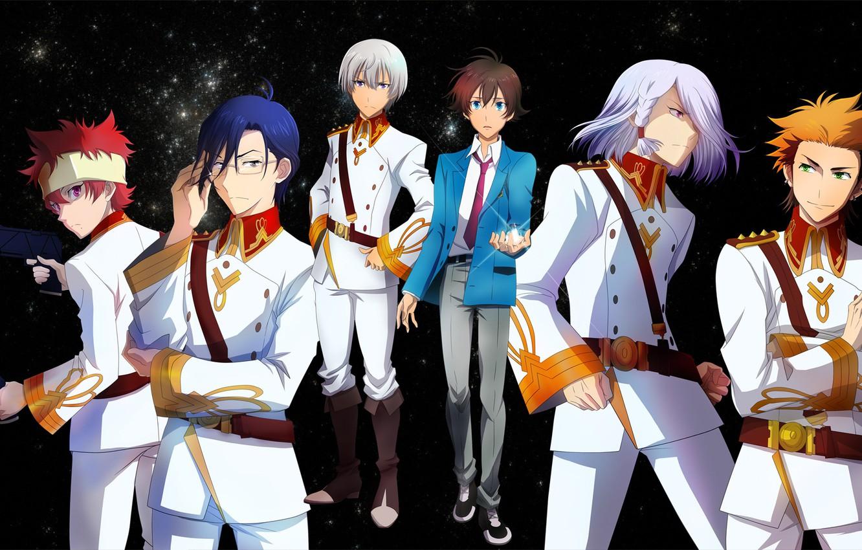 Photo wallpaper anime, guys, characters, Kakumeiki Valvrave