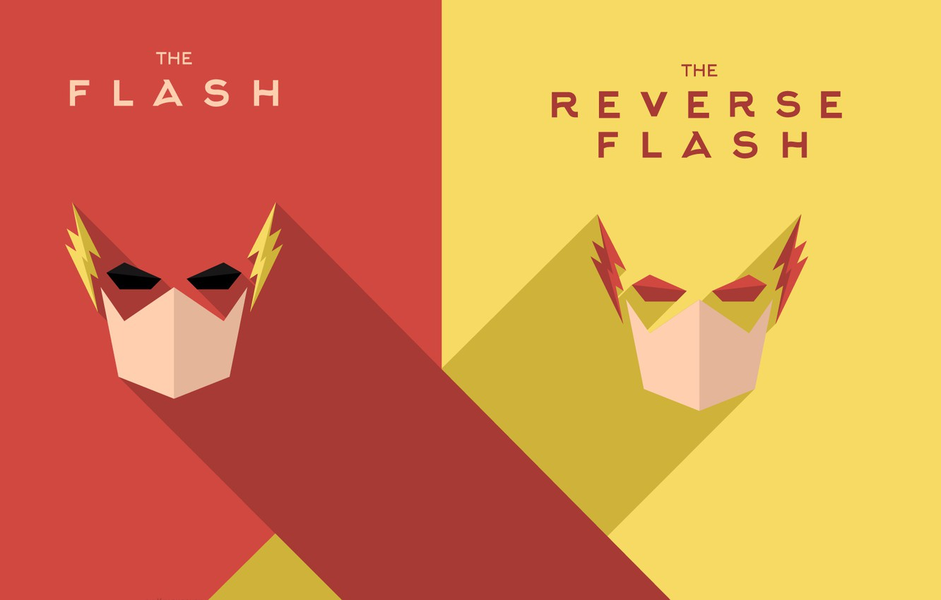 Wallpaper Dc Comics The Flash Barry Allen Reverse Flash Eobard