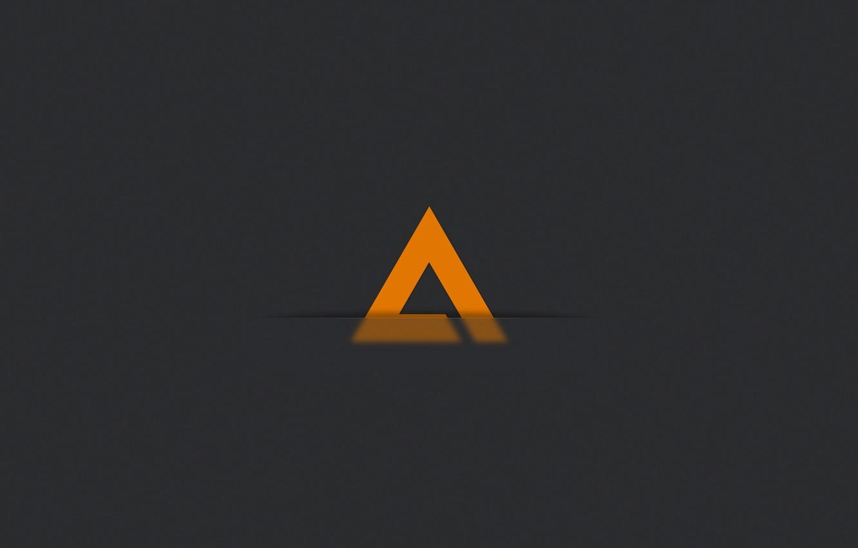 Wallpaper Minimalism Logo Music Player Icon Logo Player Aimp3