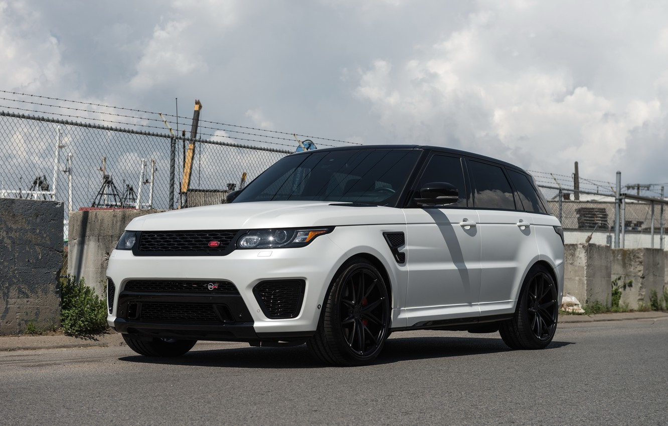 Photo wallpaper wheels, niche, RANGE ROVER