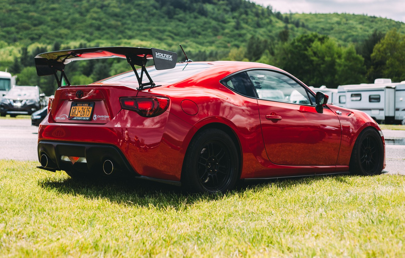 Photo wallpaper style, sports, Toyota, GT86