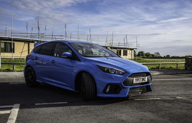 Photo wallpaper Ford, Focus, Blue