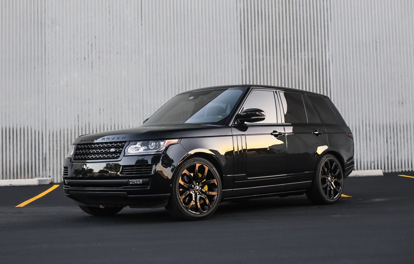 Photo wallpaper lights, Range Rover, with, color, exterior, trim, smoked, matched