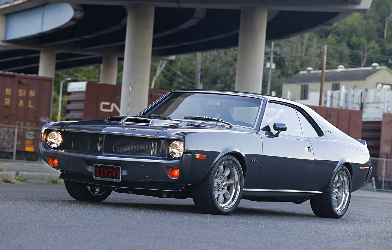 Photo wallpaper 1970, AMC, Javelin