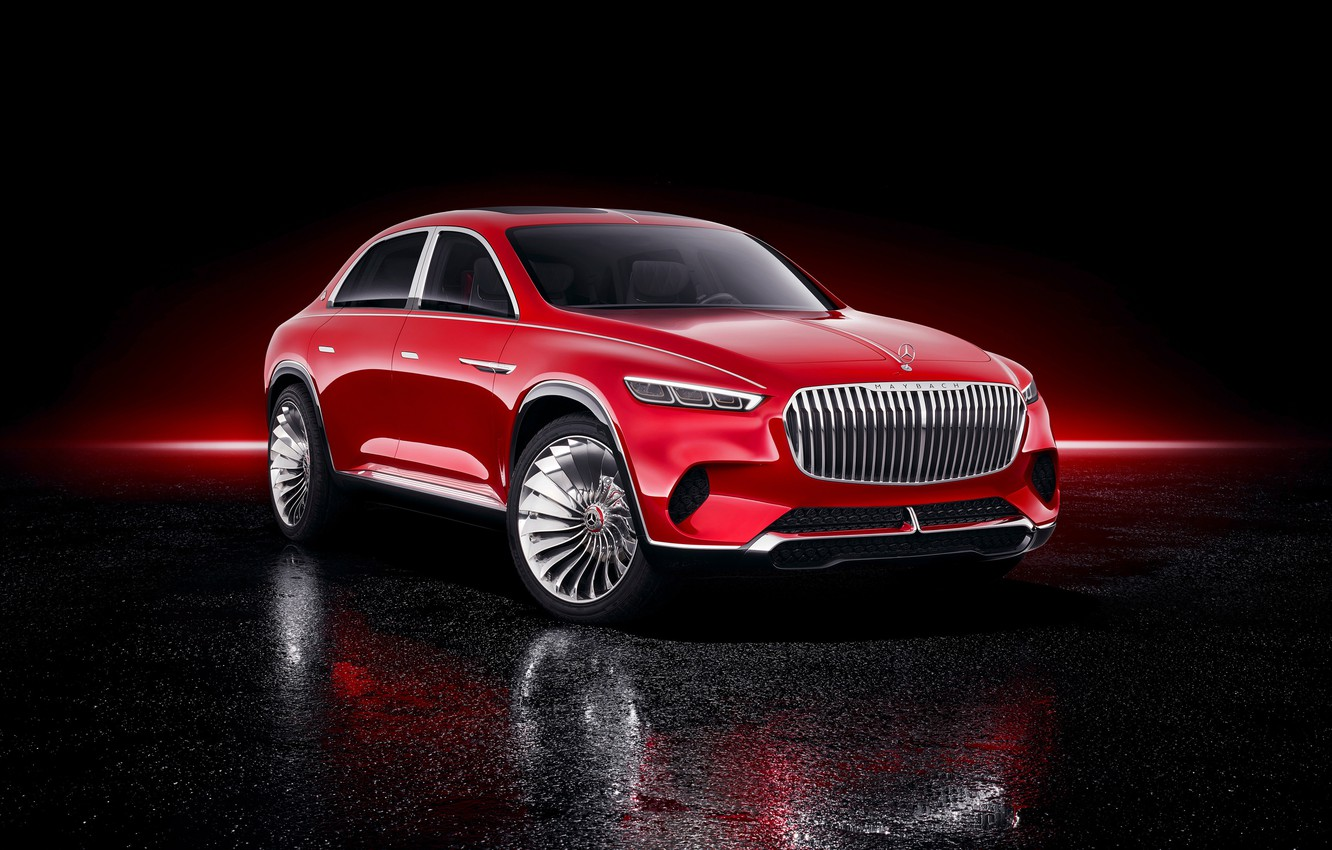 Photo wallpaper Mercedes-Benz, Vision, 2018, Mercedes-Maybach, electrocreaser, Ultimate Luxury