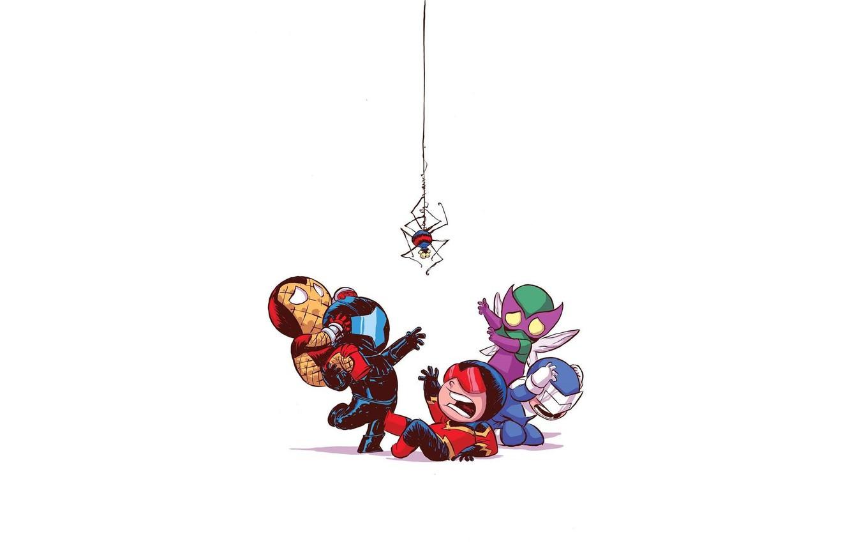 Photo wallpaper Beetle, Fear, Marvel Comics, Spider-Man, Boomerang, Villains, Shocker, Sinister six, A Speed Demon