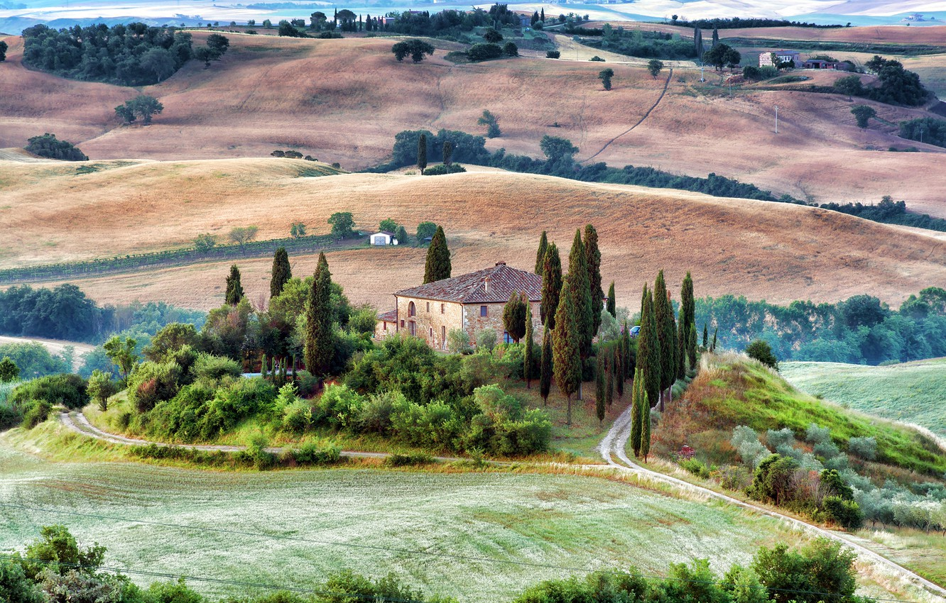 Wallpaper Nature Italy Tuscany Images For Desktop Section Pejzazhi Download