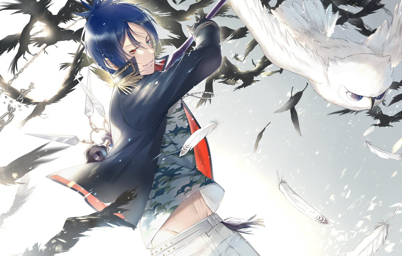 Photo wallpaper anime, art, Katekyo Hitman Reborn!, Rakudo Mukuro, Teacher mafia Reborn