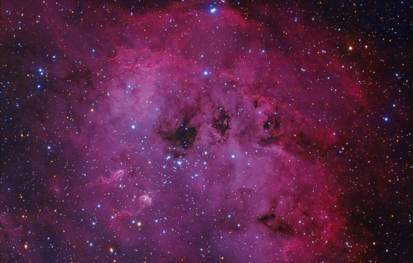 Photo wallpaper space, stars, nebula, the universe, astronomy