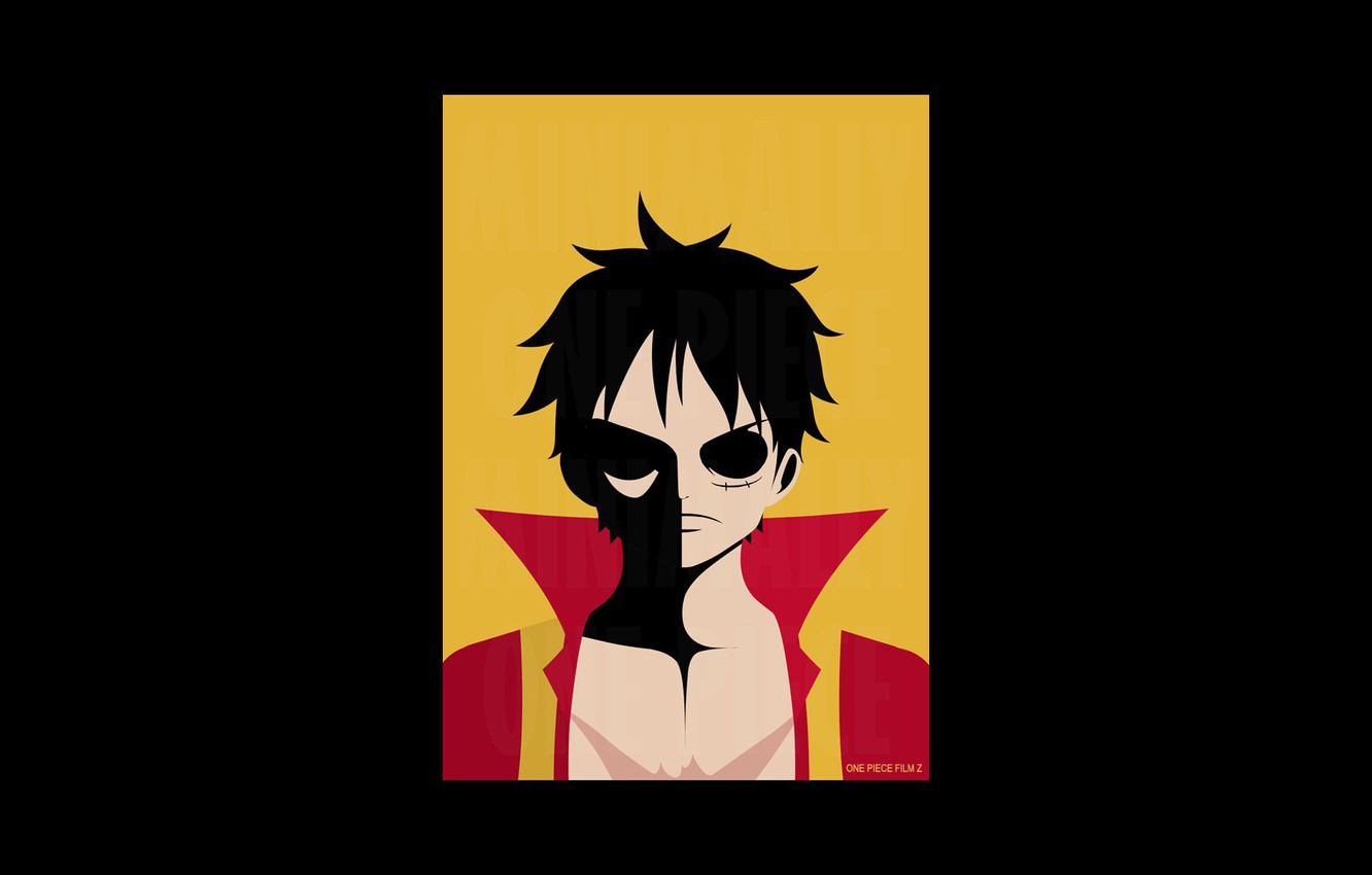 Wallpaper Game One Piece Pirate Anime Asian Manga Japanese Oriental Asiatic Monkey D Luffy One Piece Film Z Kaizoku Straw Hat Pirate Images For Desktop Section Minimalizm Download
