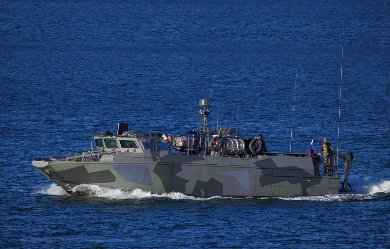Photo wallpaper boat, Navy, combat, purpose, special