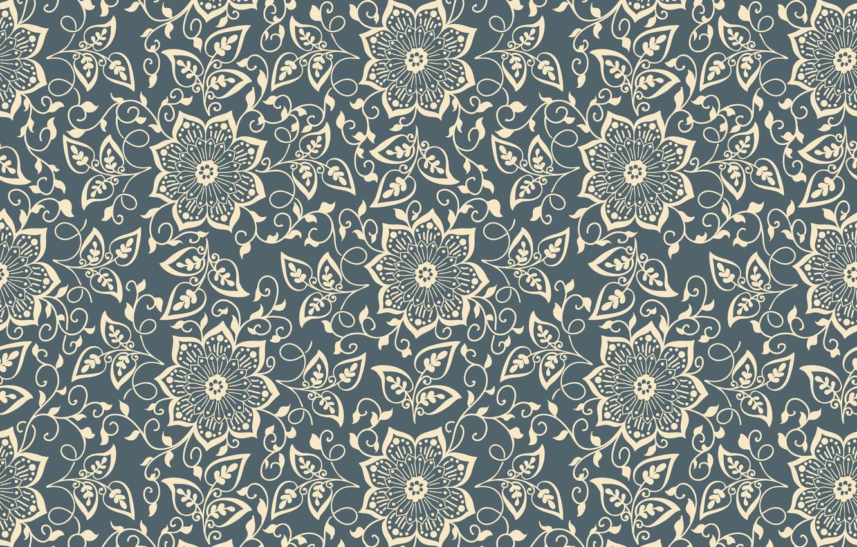 Wallpaper Flowers Texture Flower Pattern Element