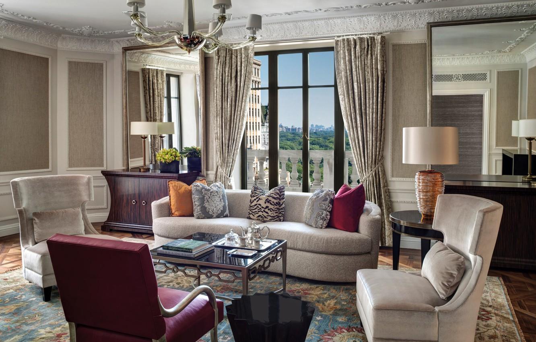 Photo wallpaper style, room, interior, living room