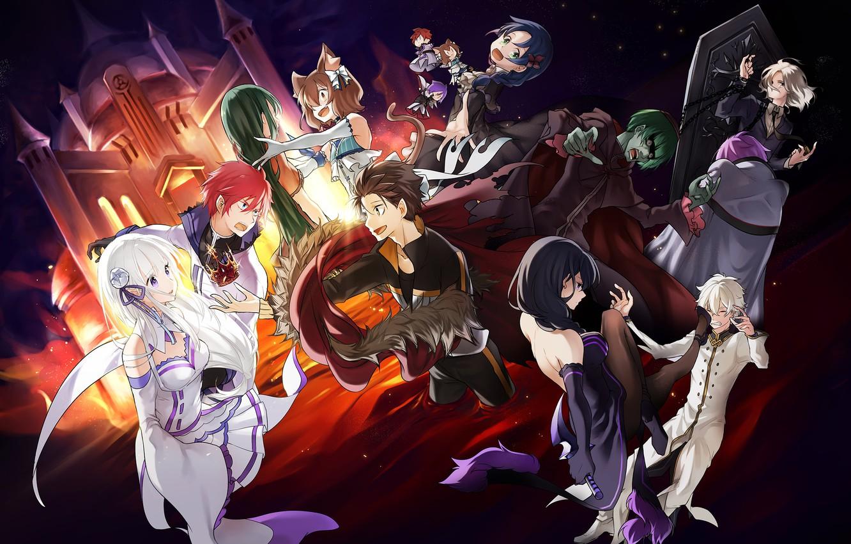 Wallpaper Anime Art Characters Re Zero Kara Hajime Chip Isek Or