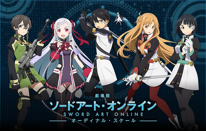 Photo wallpaper anime, art, Sword art online, Sword Art Online