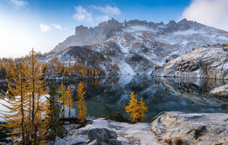 Washington Mountains Wallpaper