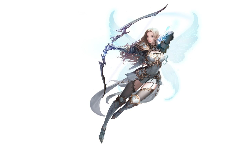 Photo wallpaper wings, Archer, fantasy, art, Illustrator, Daeho Cha, MU ORIGIN illust