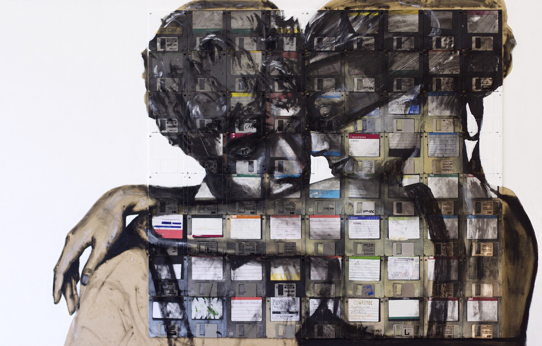 Photo wallpaper Nick Gentry, hugs, REUNION