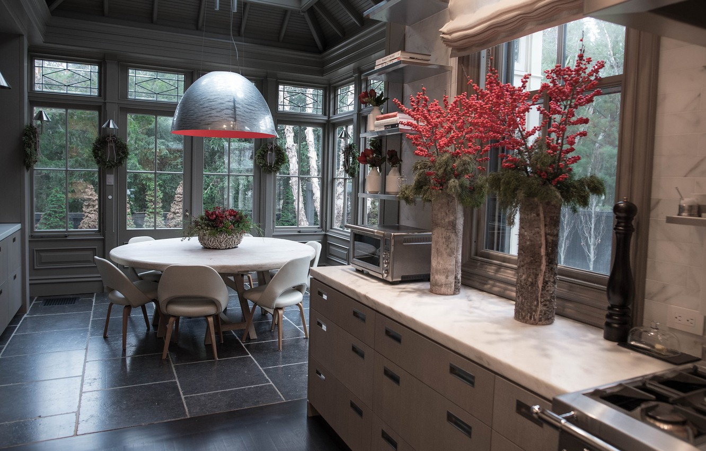 Photo wallpaper design, comfort, style, kitchen