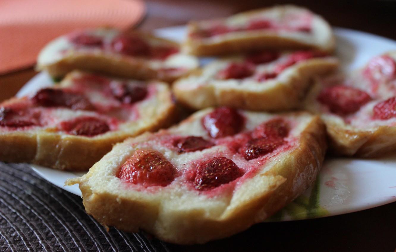 Photo wallpaper Summer, Food, Strawberries