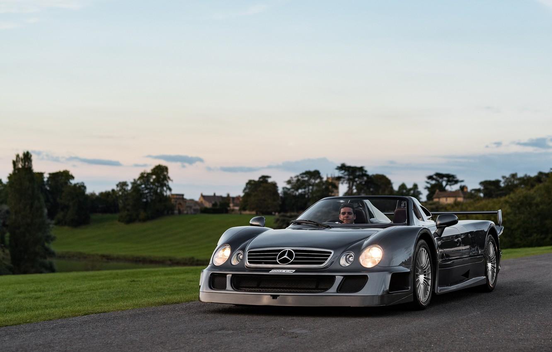 Photo wallpaper sports car, Mercedes-AMG, Mercedes-Benz CLK GTR AMG