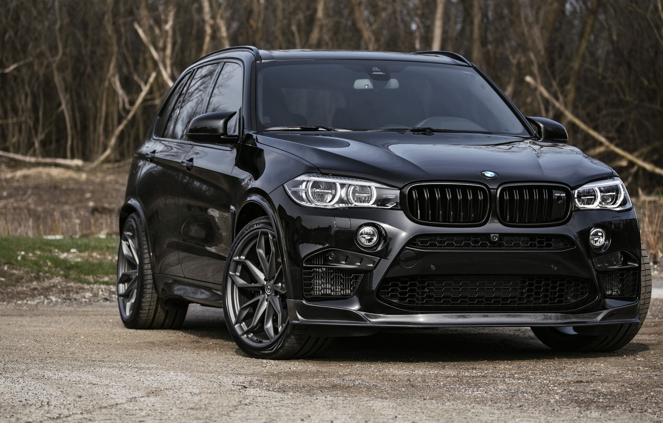 Photo wallpaper BMW, Black, X5M, Sight, F85