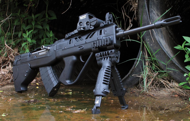 Photo wallpaper weapons, tuning, rifle, weapon, custom, custom, rifle, SKS, SKS