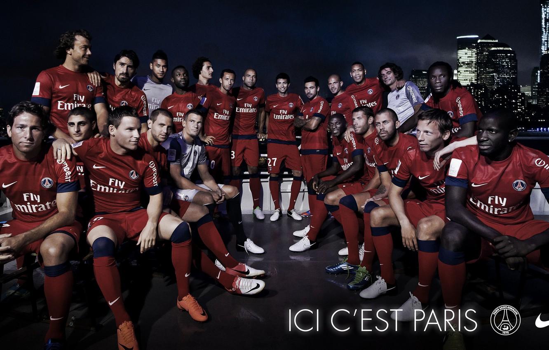 Wallpaper Wallpaper Sport Logo Nike Football Paris Saint Germain Players Images For Desktop Section Sport Download