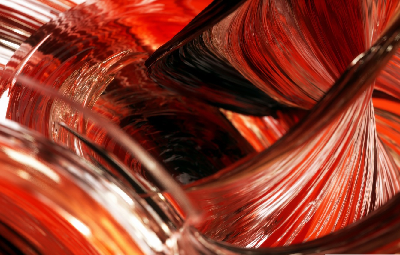 Photo wallpaper glass, macro, line, paint, the volume